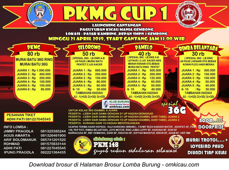 PKMG Cup 1