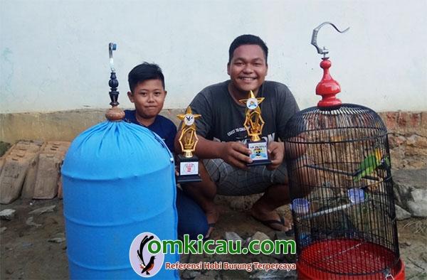 lomba burung di Batumarta