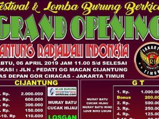 Grand Opening Cijantung Rajawali Indonesia