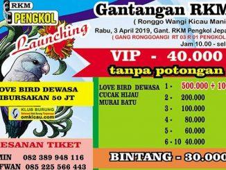 Launching Gantangan RKM
