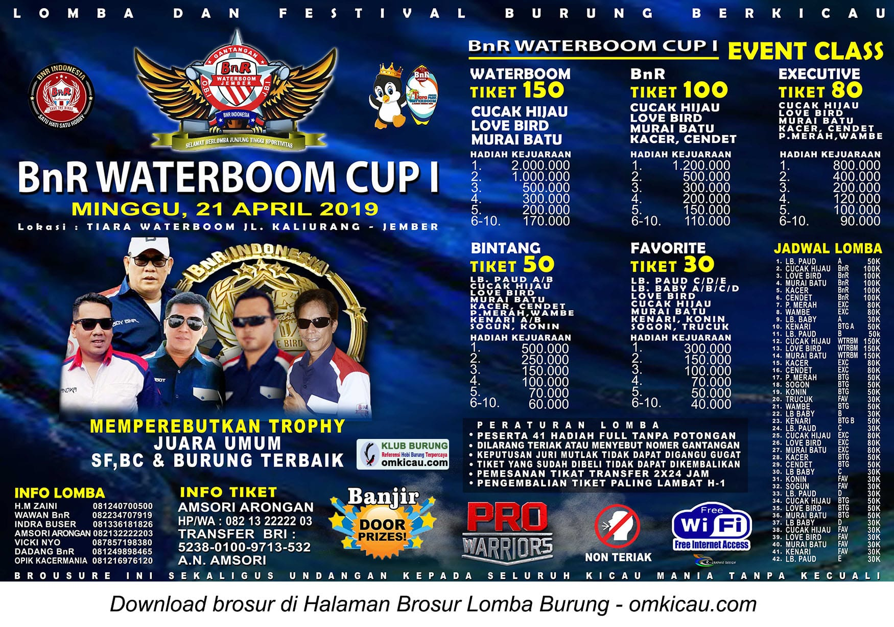BnR Waterboom Cup I