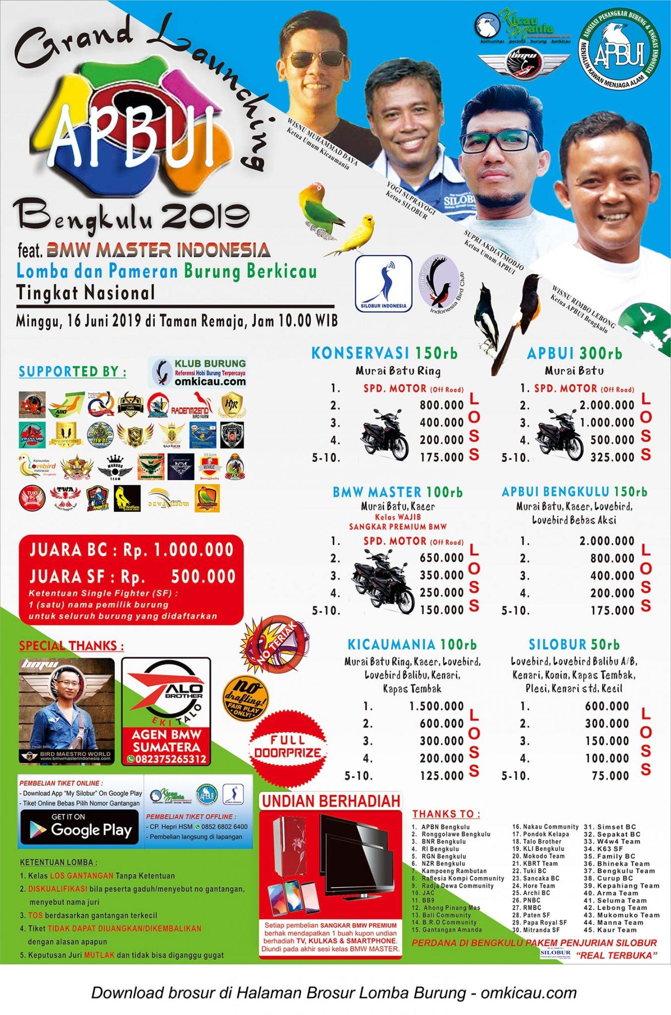 Grand Launching APBUI Bengkulu