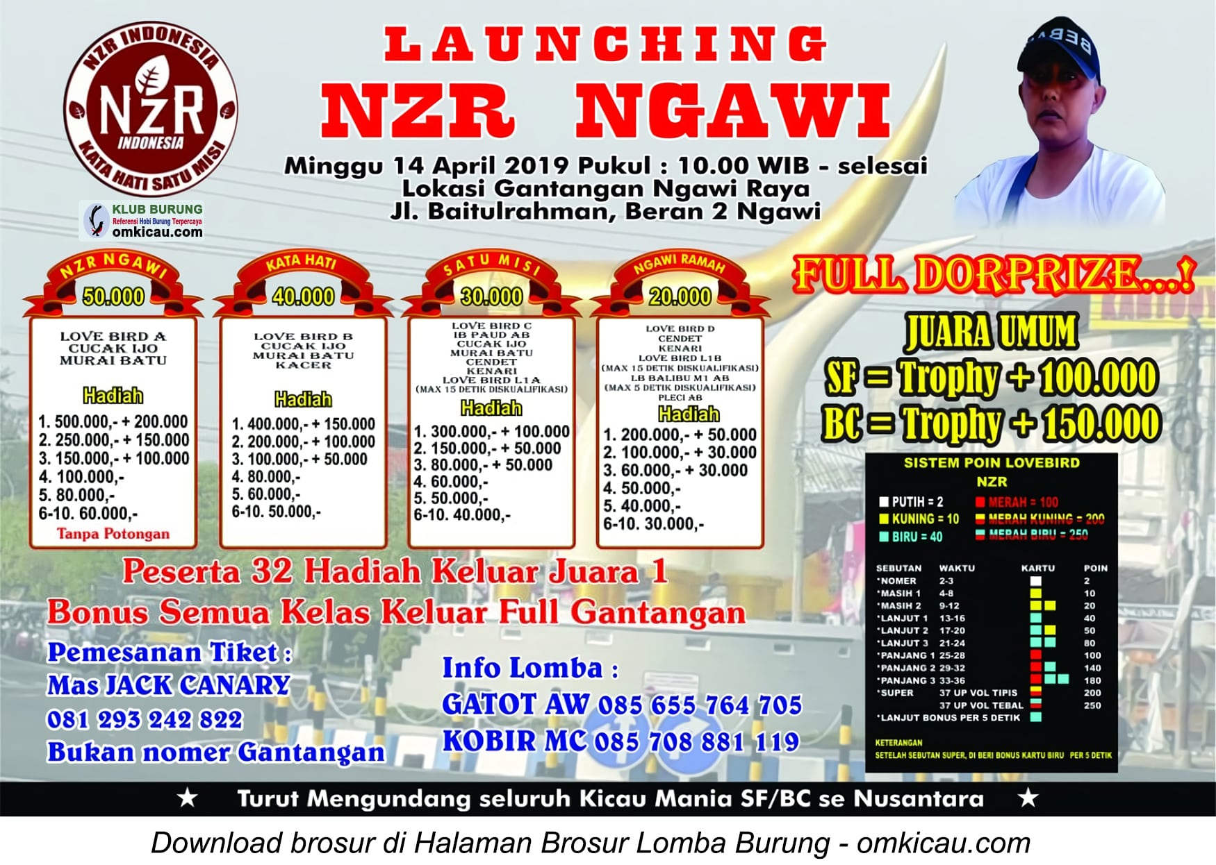 Launching NZR Ngawi