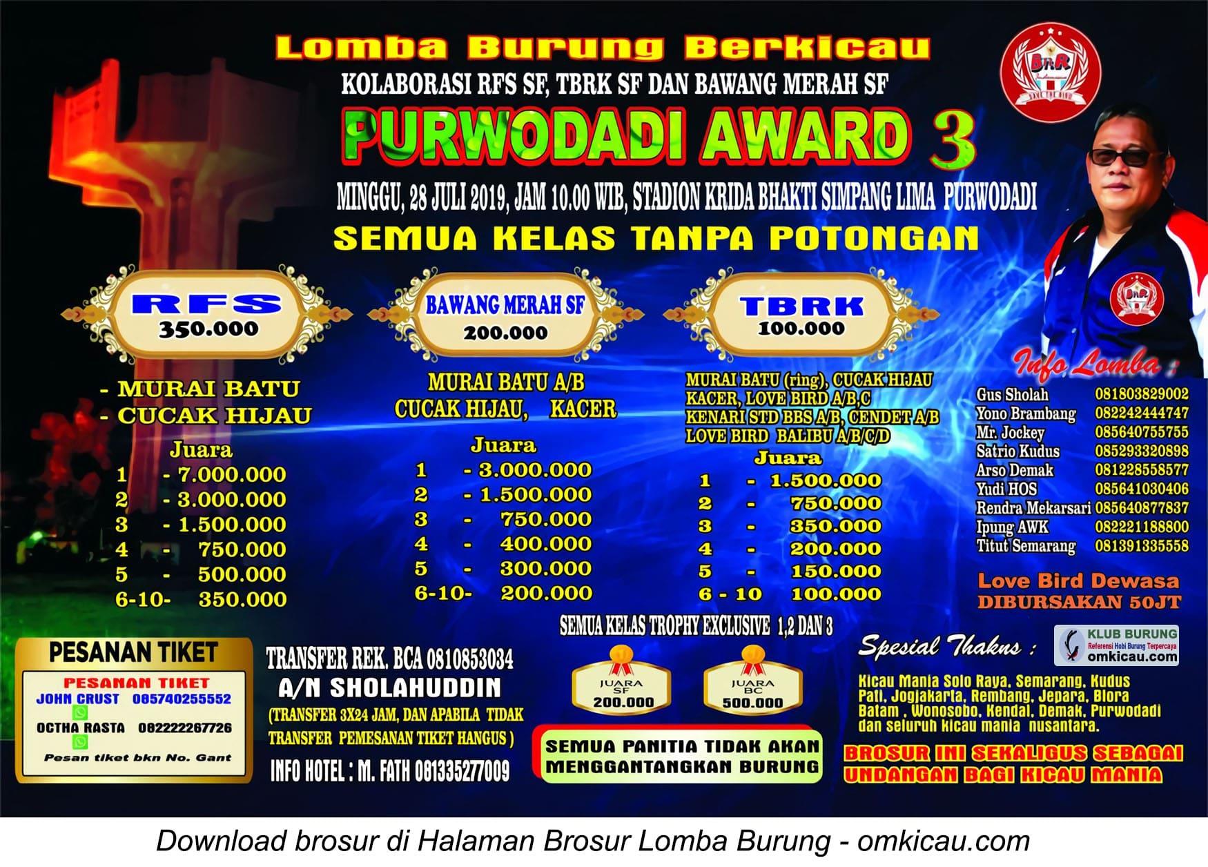 Purwodadi Award 3