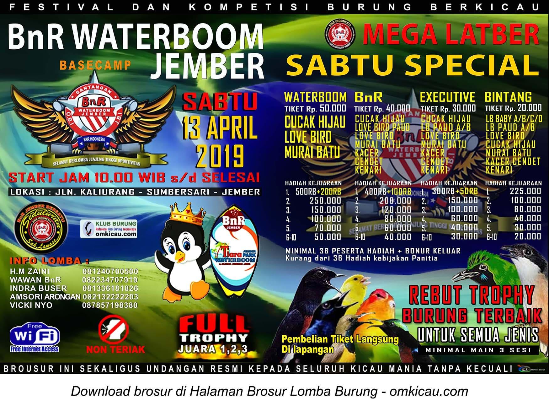 Mega Latber Sabtu Special