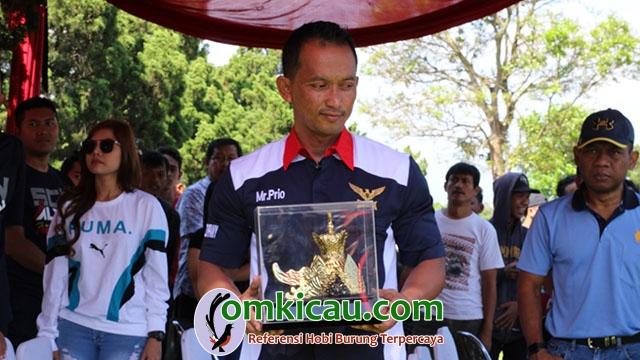 Om Prio Sutrisno penggagas Piala Pasundan III