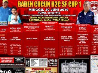 Babeh Cucun B2C SF Cup 1