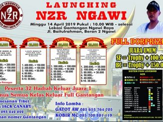 Launching NZR Ngawi
