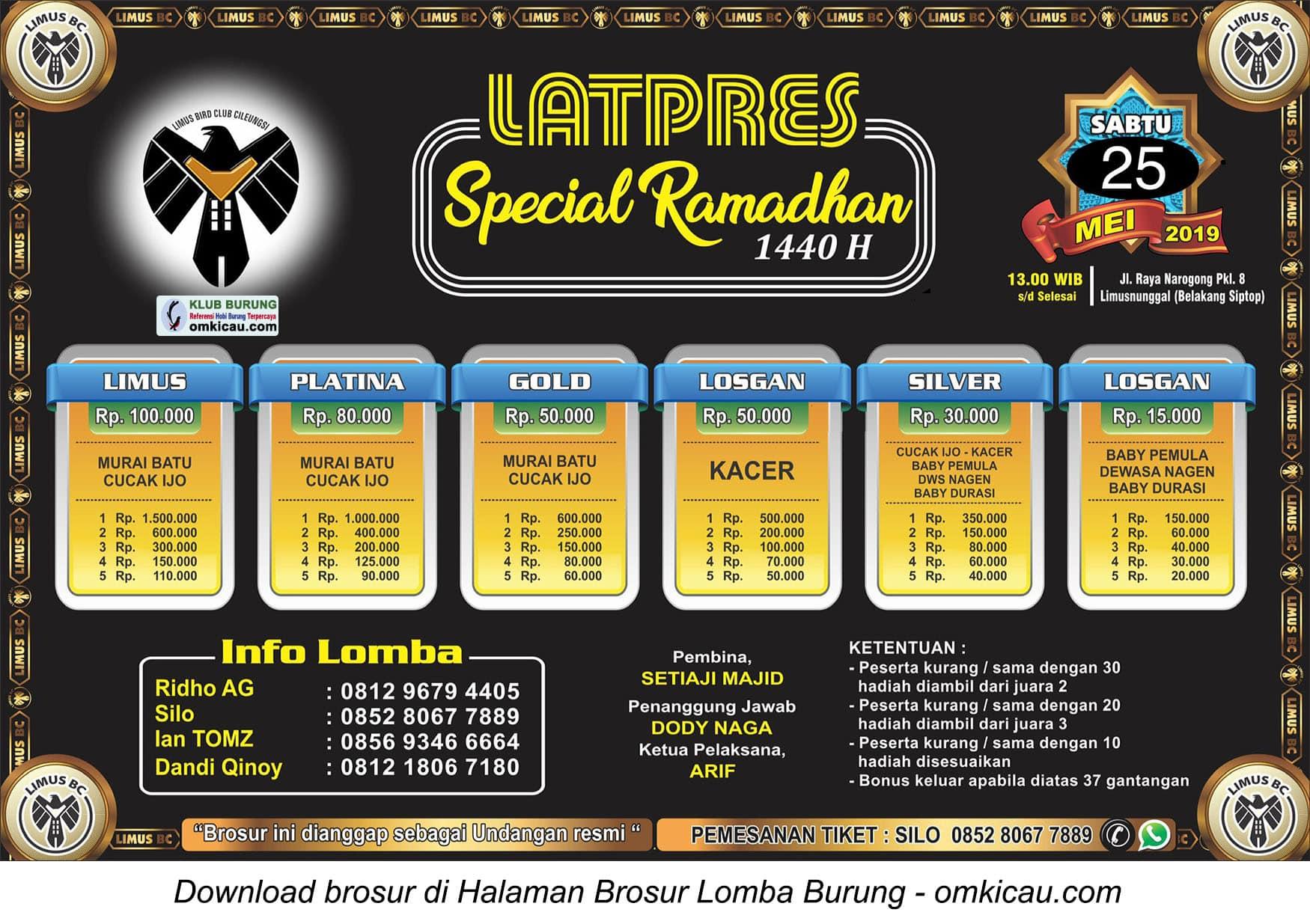 Latpres Special Ramadhan Limus BC