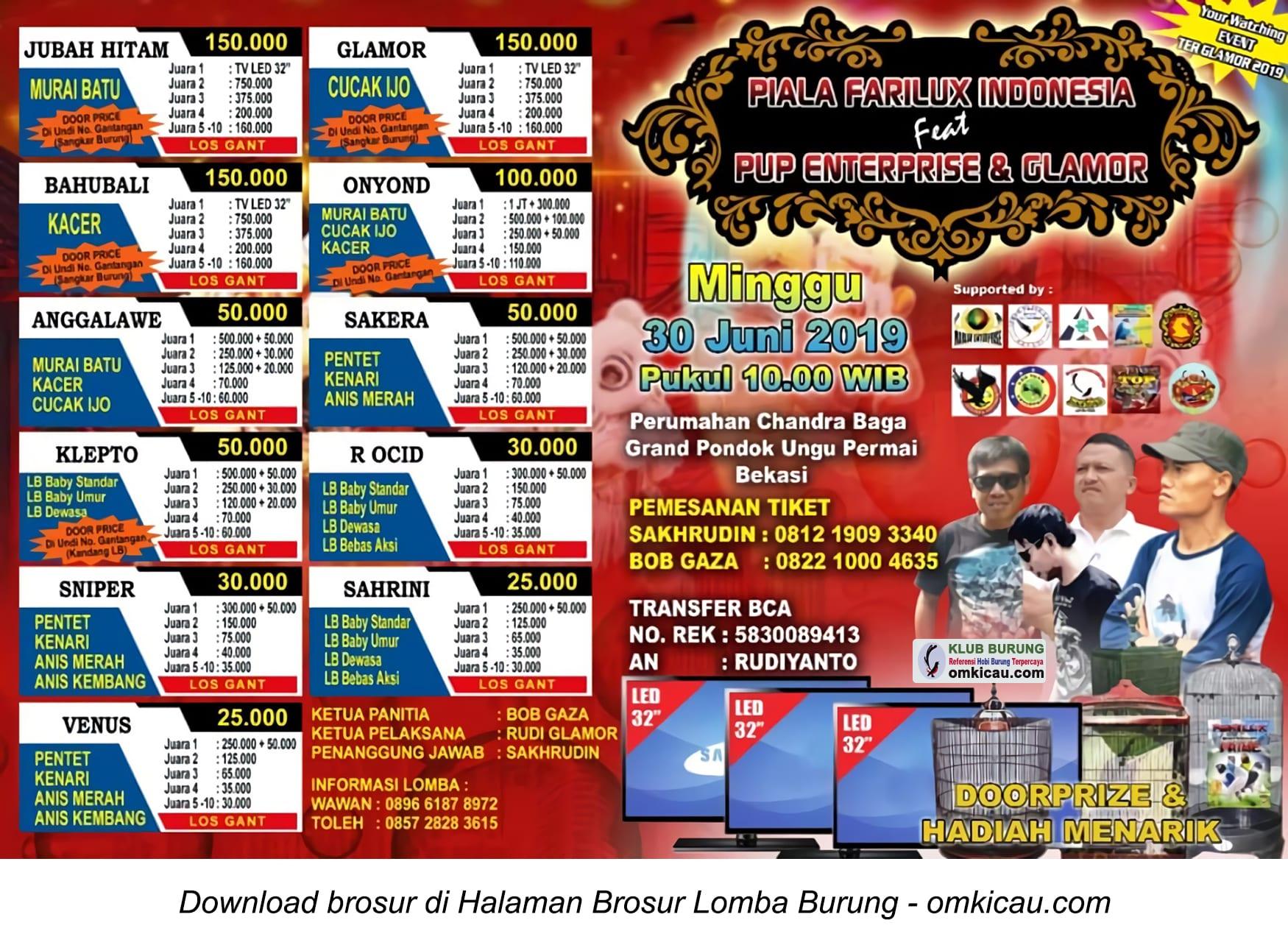Piala Farilux Indonesia