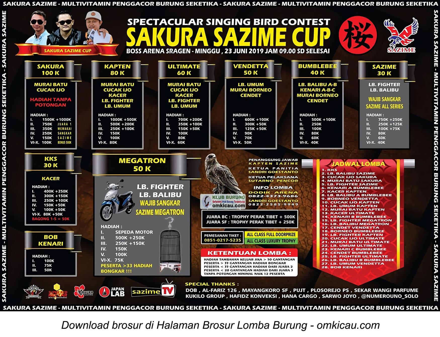 Sakura Sazime Cup
