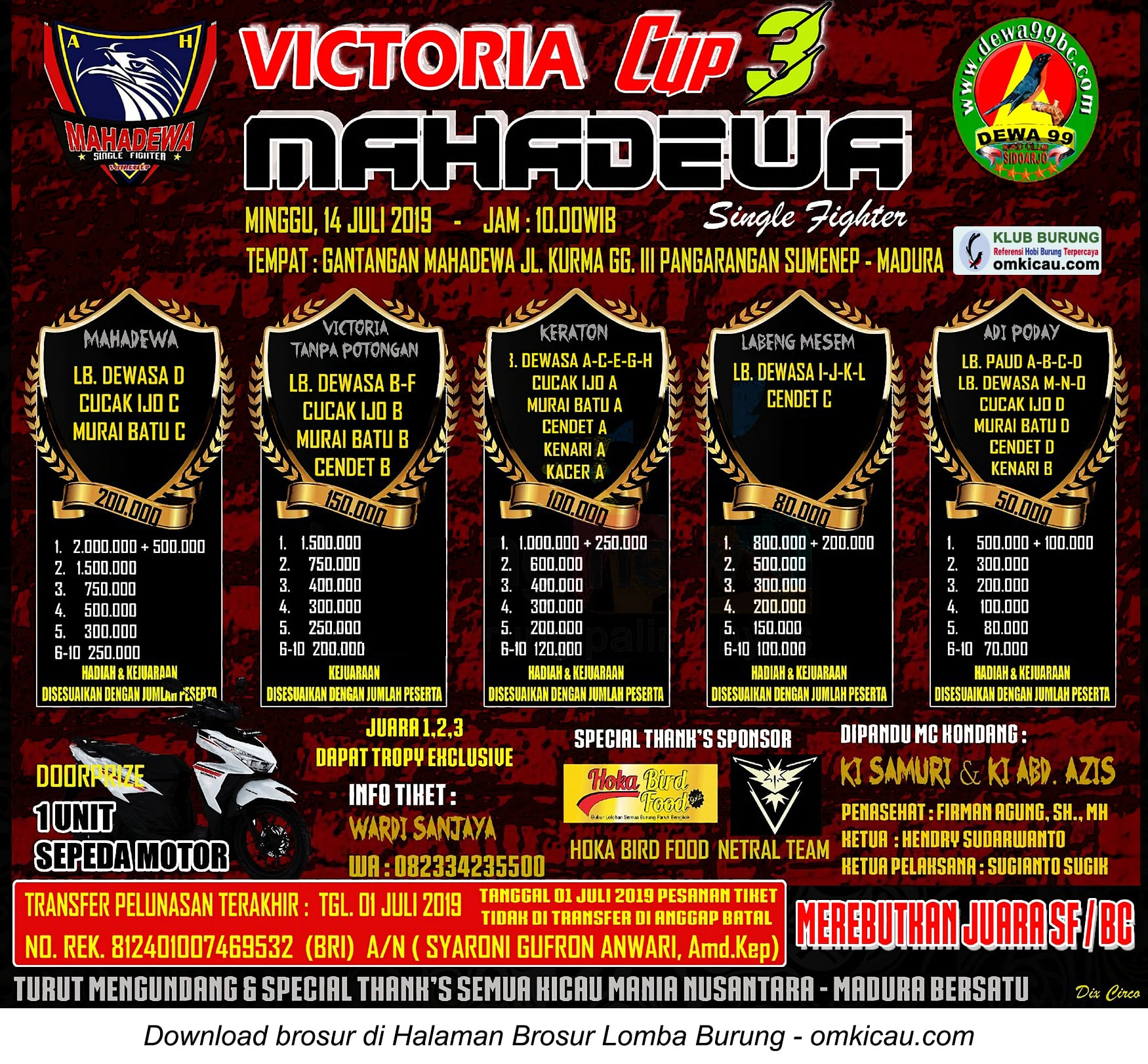 Victoria Cup 3 Mahadewa SF