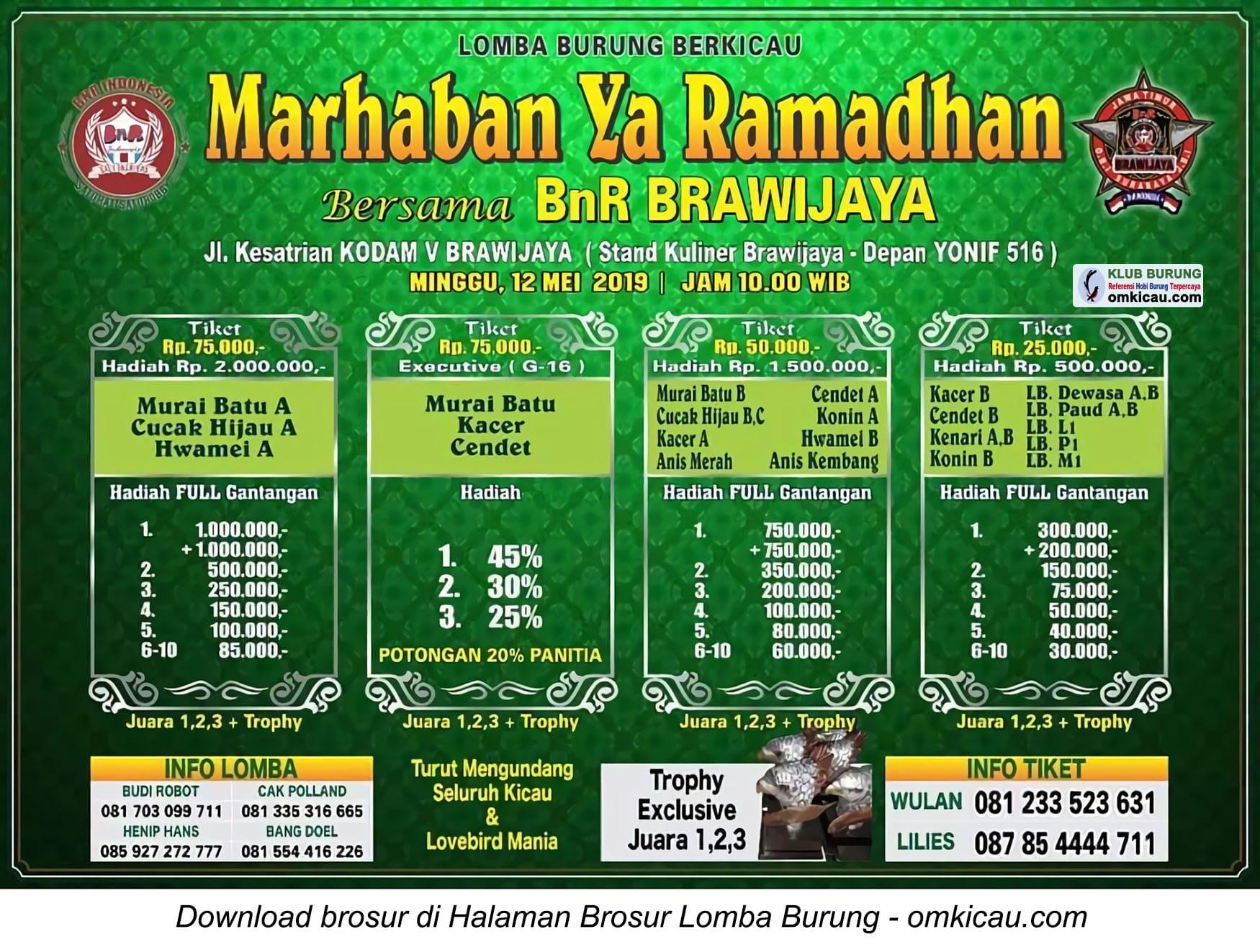 BnR Brawijaya Marhaban Ya Ramadhan
