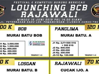 Launching BCB Rajawali