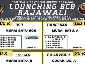Launching BCB Rajawali