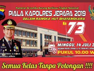 Piala Kapolres Jepara