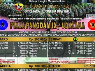 Piala Pangdam IX / Udayana