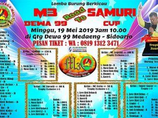 Road to Samuri Cup 2