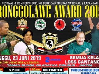 Ronggolawe Award 2019
