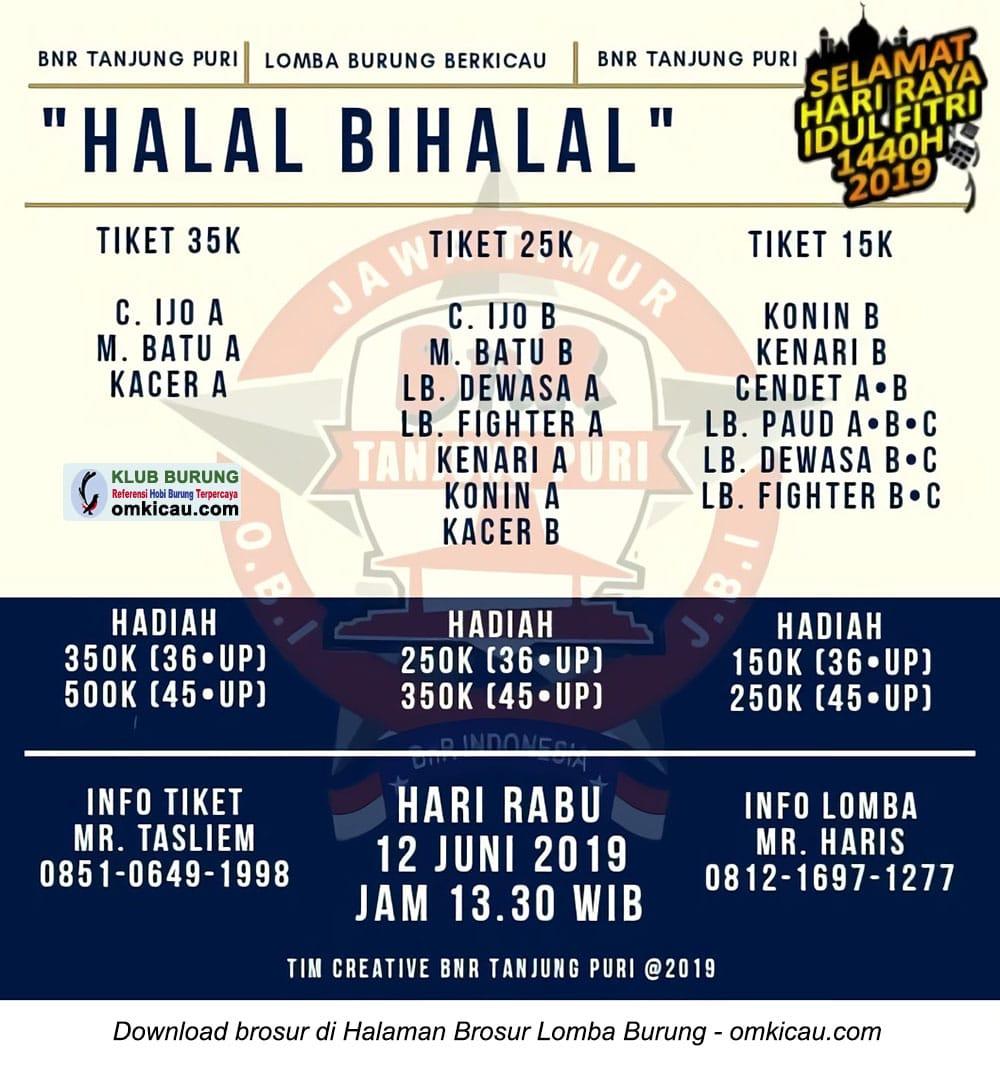 Latber Halal Bihalal BnR Tanjung Puri