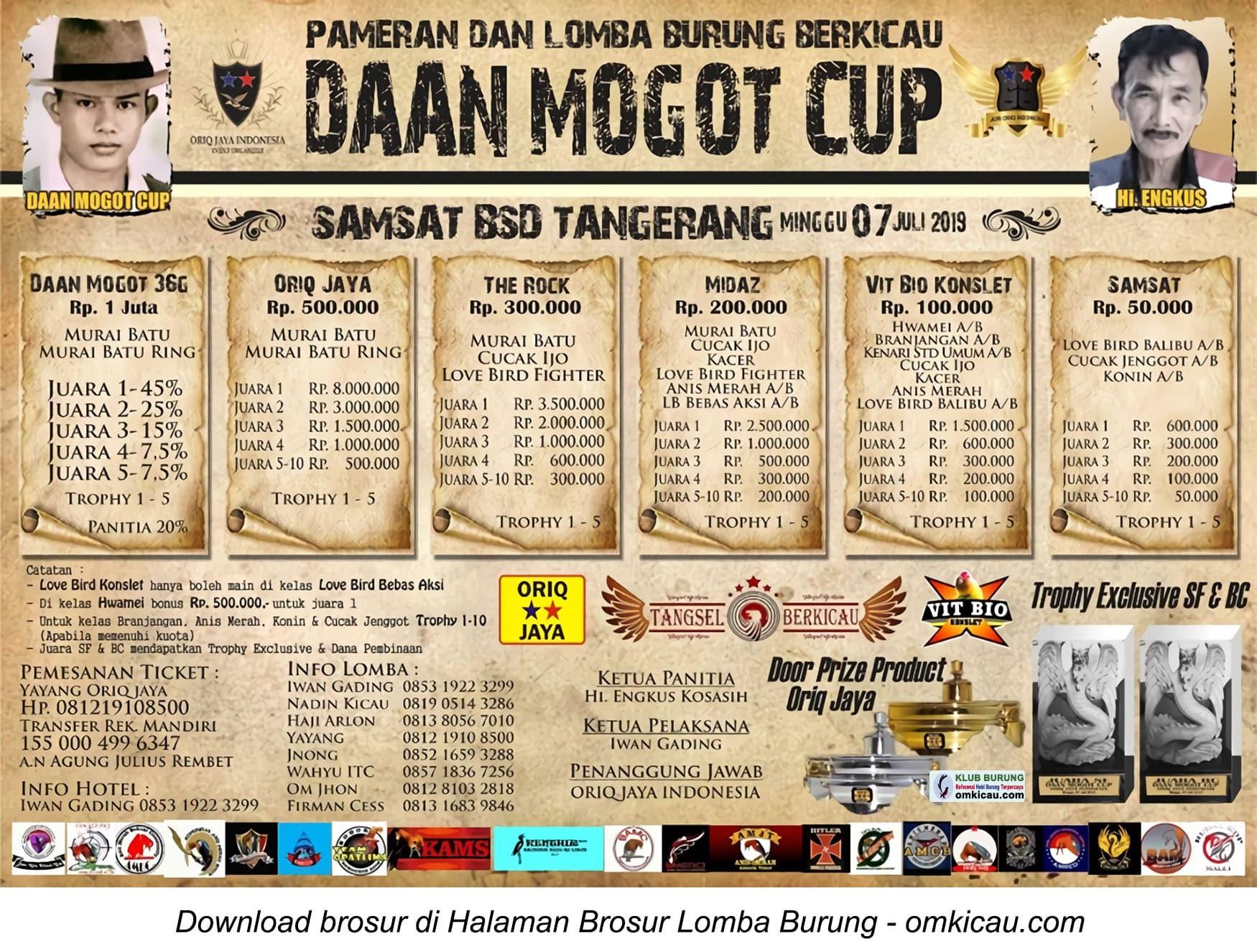 Daan Mogot Cup