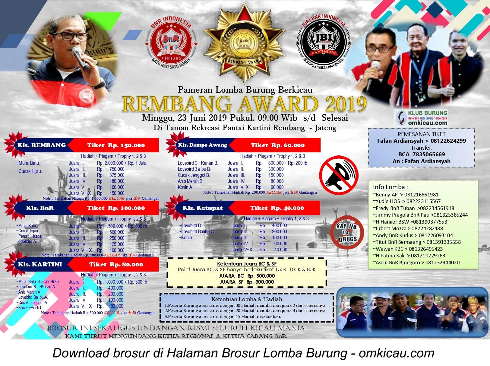 Rembang Award 2019