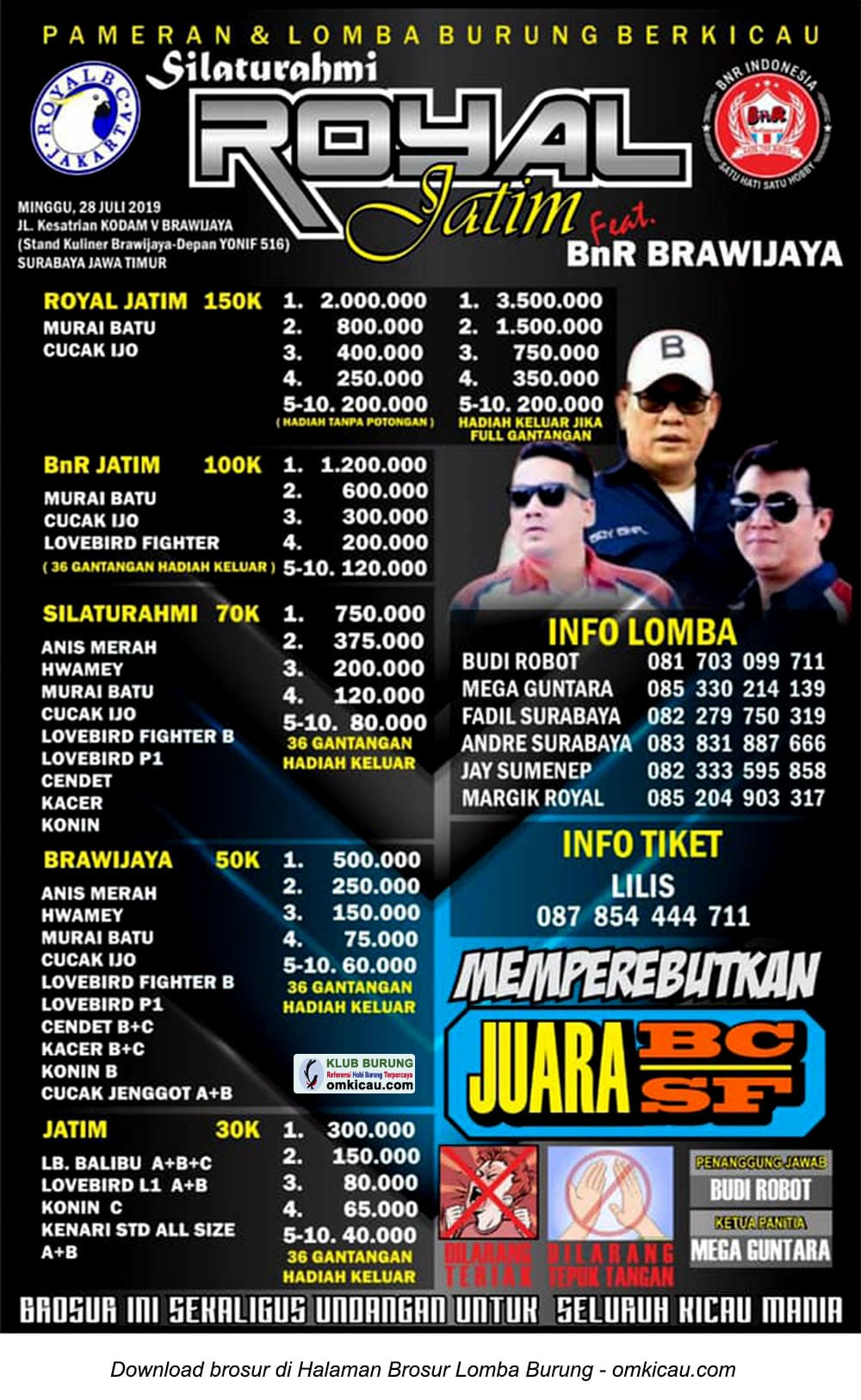 Silaturahmi Royal Jatim feat BnR Brawijaya