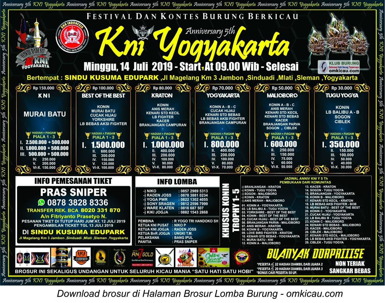 5th Anniversary KNI Yogyakarta