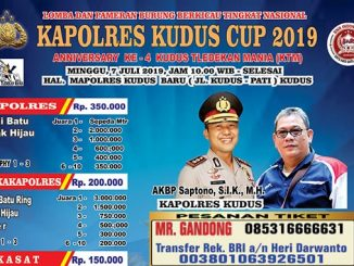 Kapolres Kudus Cup