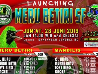 Launching Meru Betiri SF