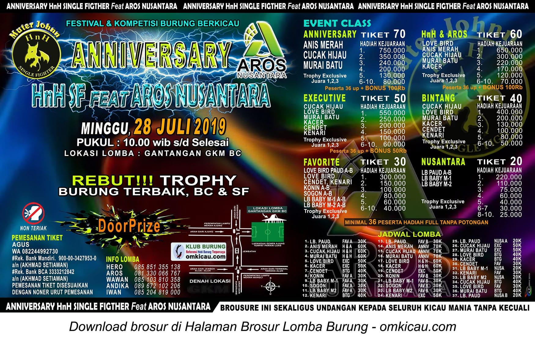 Anniversary HnH SF feat AROS Nusantara