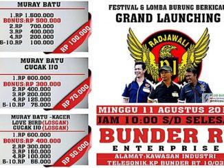 Grand Launching Bunder RI