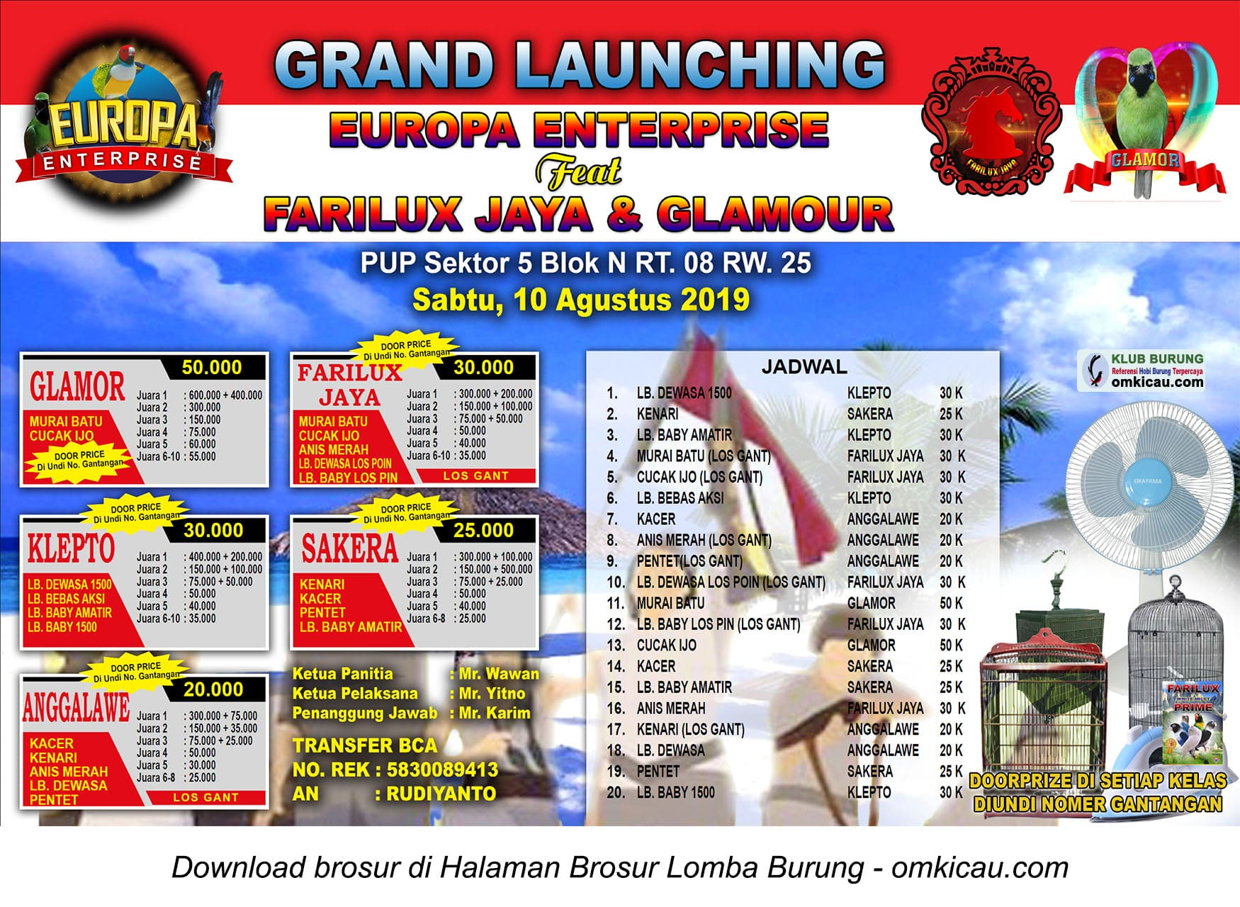 Grand Launching Europa Enterprise
