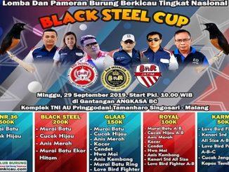 Black Steel Cup