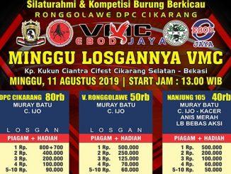 Minggu Losgannya VMC