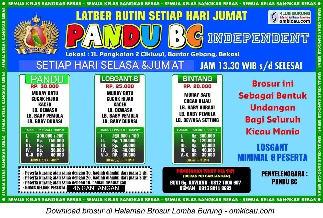 Latber Pandu BC