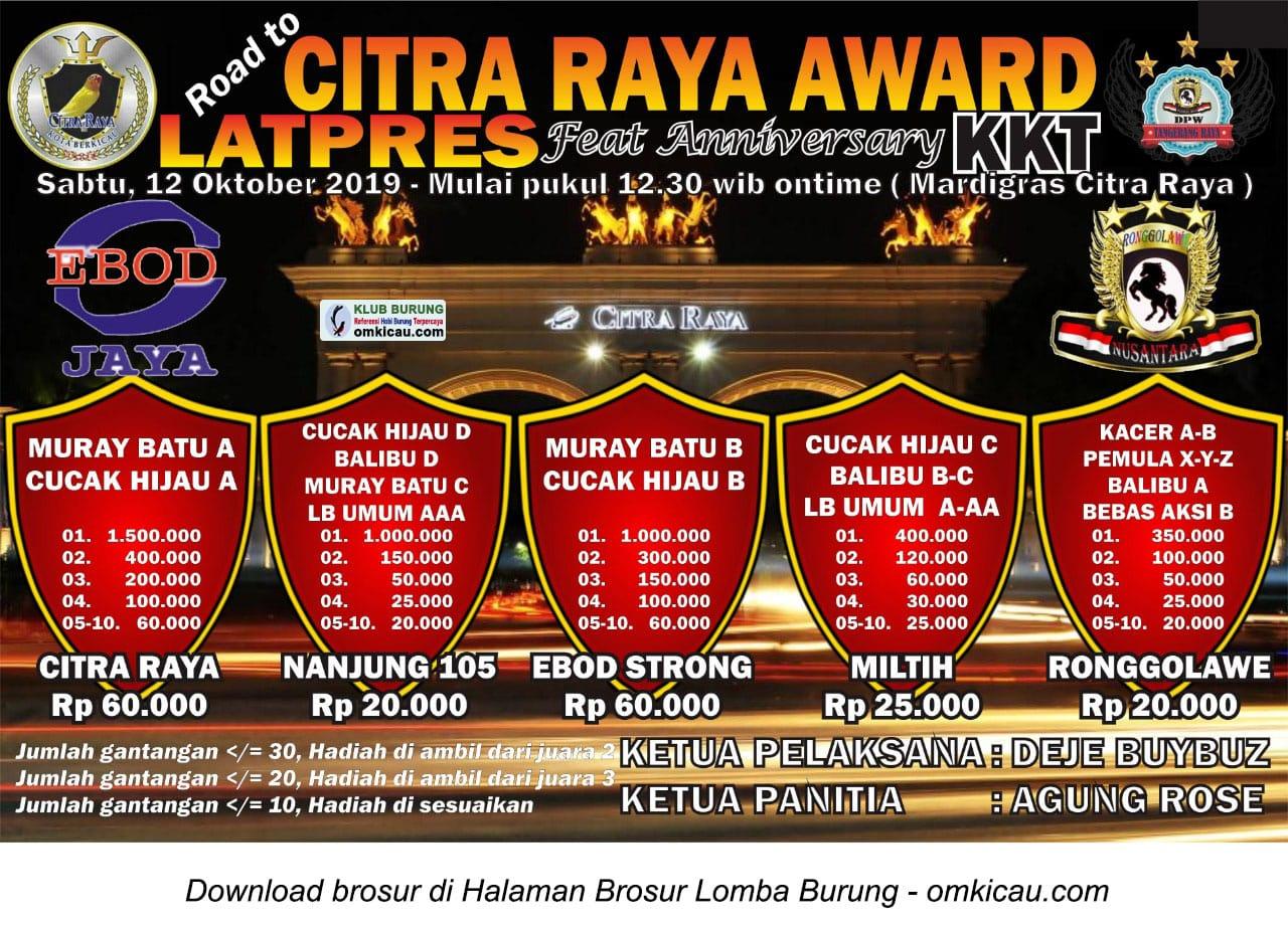 Latpres Road to Citra Raya Award