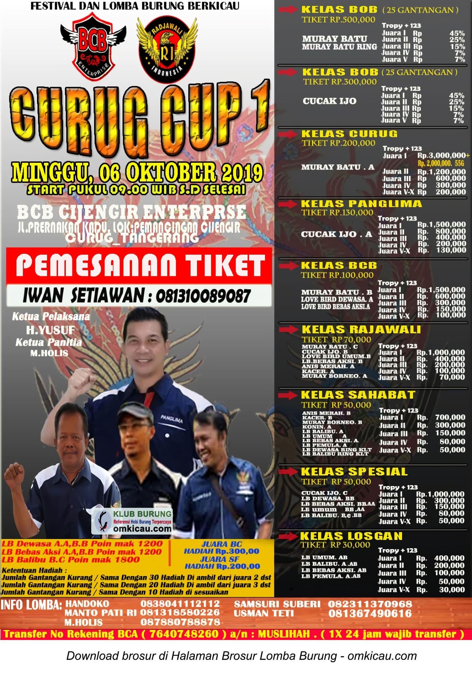 Curug Cup 1