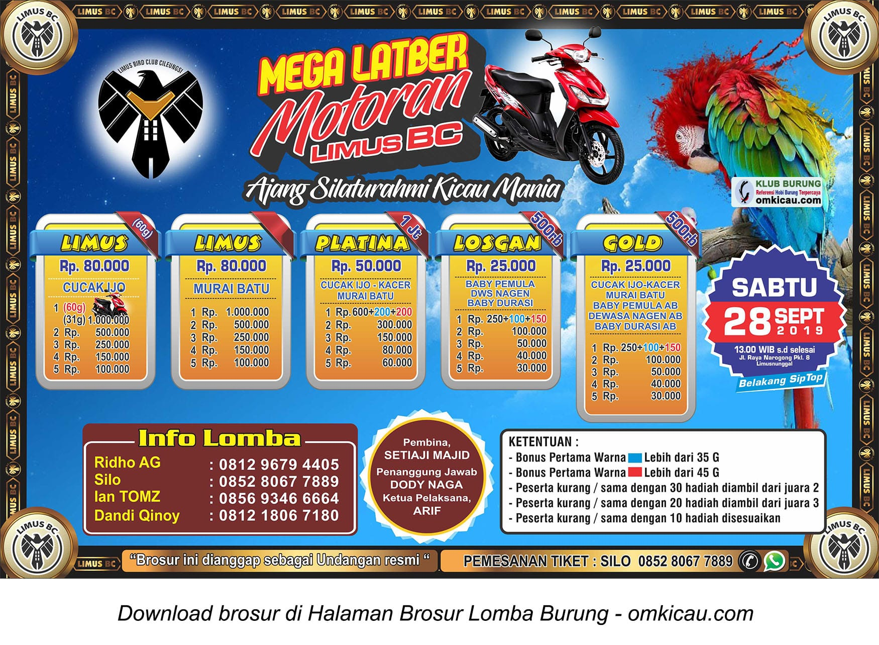 Mega Latber September Motoran
