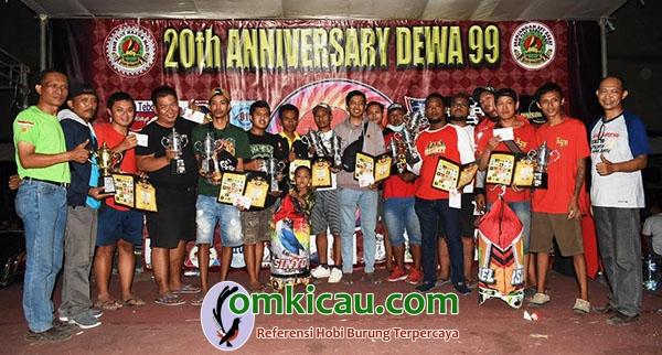 Anniversary Dewa 99