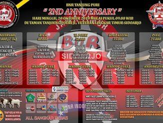 2nd Anniversary BnR Tanjung Puri