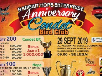 Anniversary Condet Bird Club