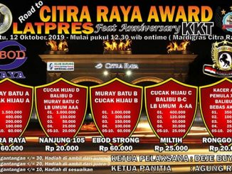 Latpres Road to Citra Raya Award