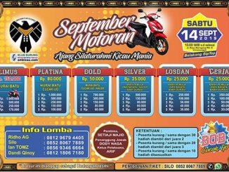 Latpres September Motoran