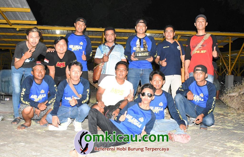 Abah Sakri Airlangga Team feat Abah Heri MPS SF moncer bersama lovebird Pajero