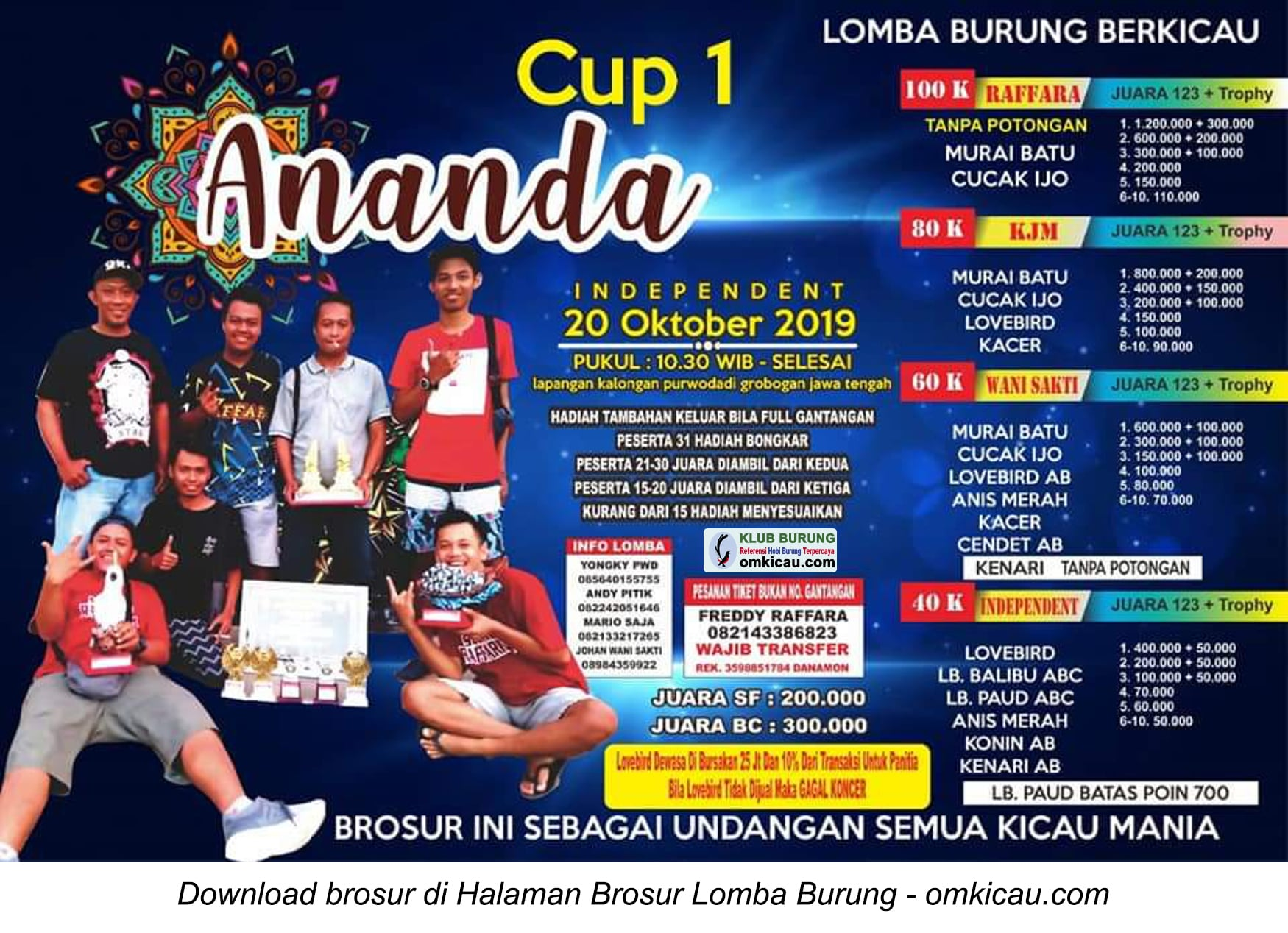 Ananda Cup 1
