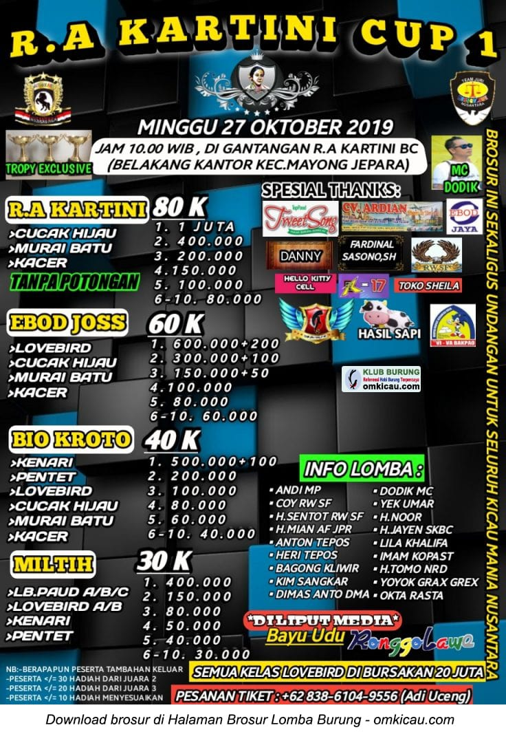 RA Kartini Cup 1