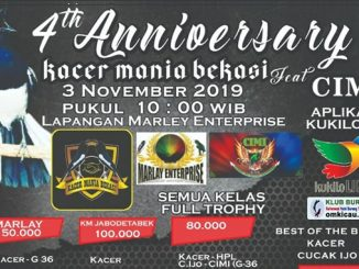 4th Anniversary Kacer Mania Bekasi
