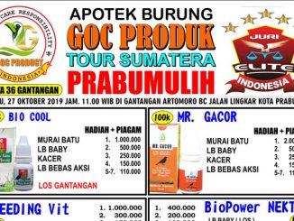 GOC Produk Tour Sumatera