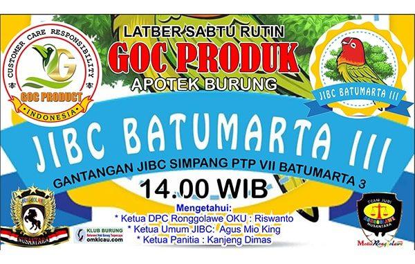 Latber GOC Produk - JIBC Batumarta III